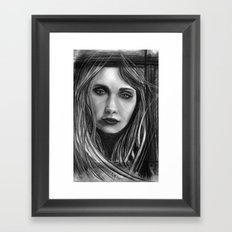 Mysterious M Framed Art Print
