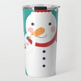 Snow Nose Installation Travel Mug
