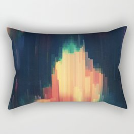Glitched v.6 Rectangular Pillow