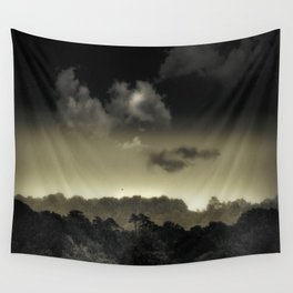 Stored in the Cloud Wall Tapestry