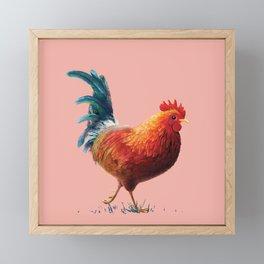 Rooster Framed Mini Art Print
