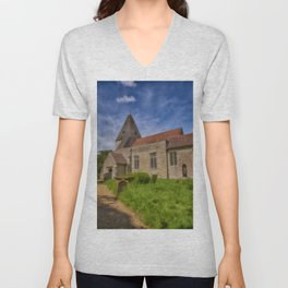 St Mary Hunton Unisex V-Neck