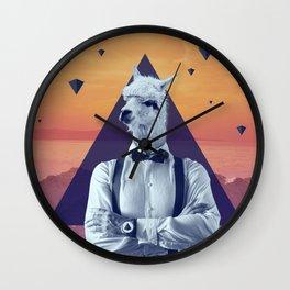 Llama Rama Wall Clock