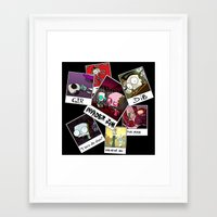invader zim Framed Art Prints featuring Invader Zim Photo Collage by kltj11