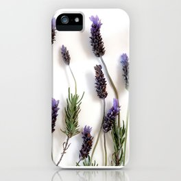 Lavander iPhone Case