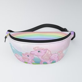 g1 my little pony Lickety Split and Baby Fanny Pack