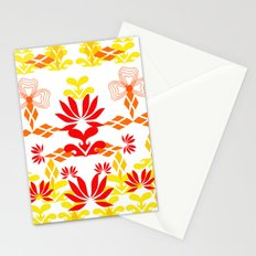 YELLOW RED Stationery Cards