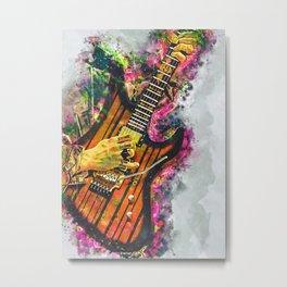 Synyster Gates Guitar Metal Print