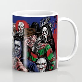 Horror Villains Selfie Coffee Mug