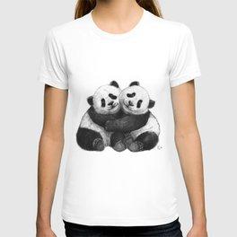Panda's Hugs G143 T-shirt