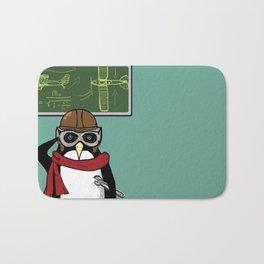 Little Penguin, Big Plans Bath Mat
