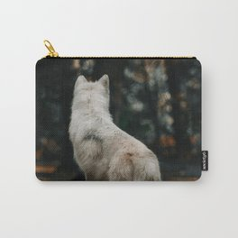 Wolf Backside (Color) Carry-All Pouch