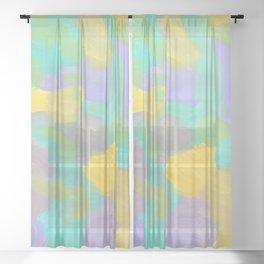 Abstract 2305 Sheer Curtain