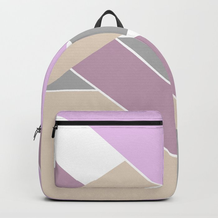 Abstract pattern . Geometric shapes .2 Backpack