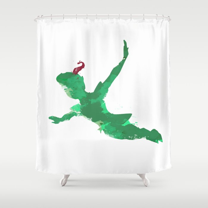 Peter Pan Baby Shower Curtain