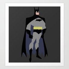 Batman(Wayne) Art Print