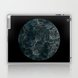 Lines of the Tide Laptop & iPad Skin