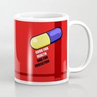 akira Mugs featuring akira pill by tama-durden