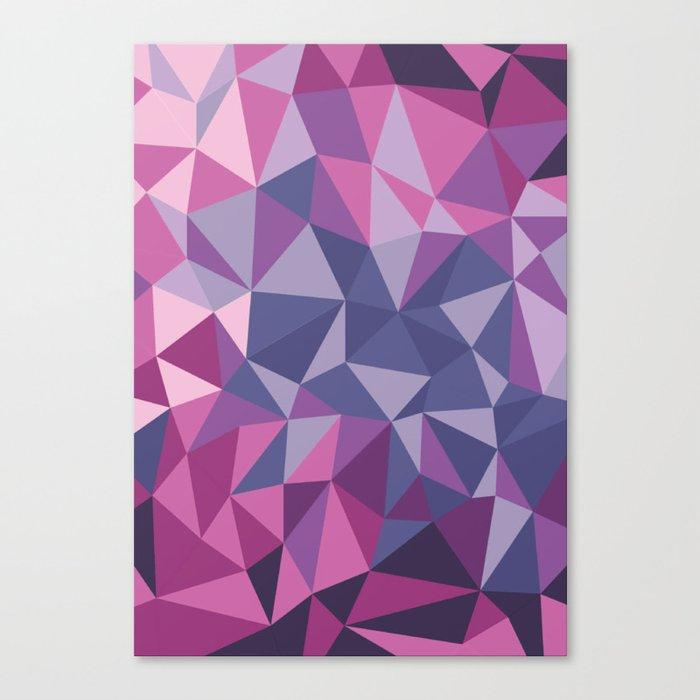 Crystal texture Canvas Print