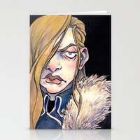 fullmetal Stationery Cards featuring Armstrong by Naïs Quin