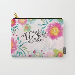 Every Moment Matters Carry-All Pouch