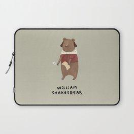 William Shakesbear Laptop Sleeve