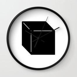 Shapes Cube Wall Clock