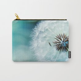 Dandelion Seeds Blowball Macro Close Up Carry-All Pouch