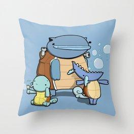 Pokémon - Number 7, 8 & 9 Throw Pillow