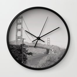 San Francisco State of Mind Wall Clock
