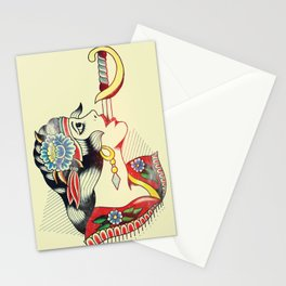 Sword Magic Girl Stationery Cards