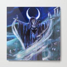 """Goddess Macha"" by Rev. Paul Messerle, HP Metal Print"