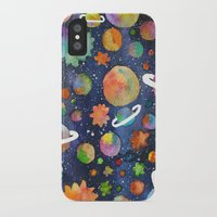 planet iPhone & iPod Cases featuring Planet by Michaella Fonseca