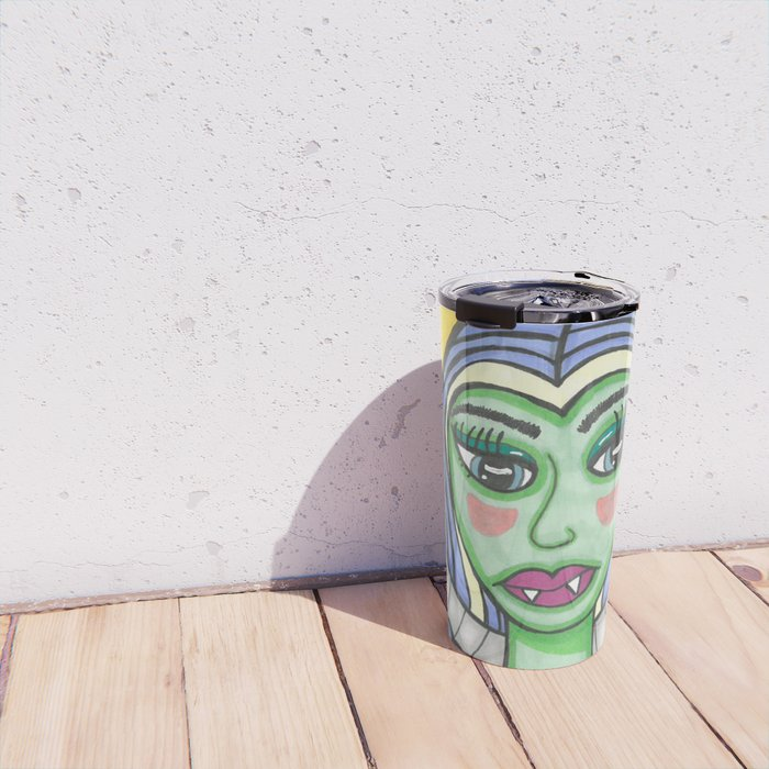 Monster Girl Travel Mug