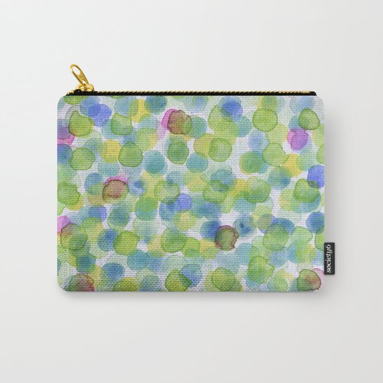 Dotted Summer Pattern Carry-All Pouch