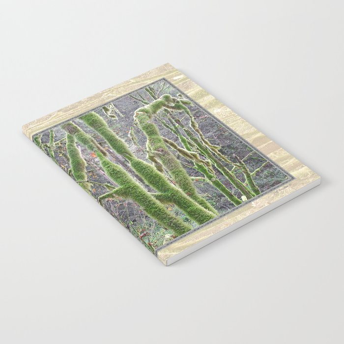 YOUNG RAINFOREST VINE MAPLES Notebook