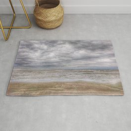 Sand Waves Clouds Rug