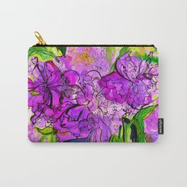 Summer Peonies Carry-All Pouch