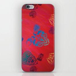 Diablada Print iPhone Skin