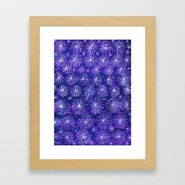 Starry Night Handmade Decoration Framed Art Print