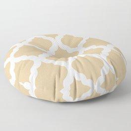 Brown rombs Floor Pillow