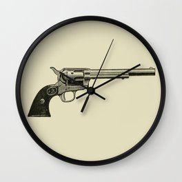 Revolver Wall Clock