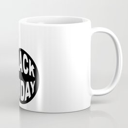 Black Friday Bomb And Lit Fuse Coffee Mug
