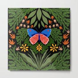 Butterfly in The Garden 03 Metal Print