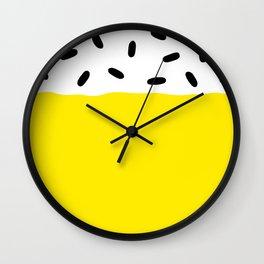 Sunshine Sprinkles Wall Clock