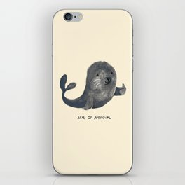 Seal Of Approval iPhone Skin