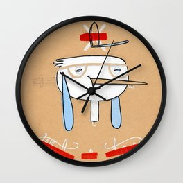 """One of those days when you say  """" what a day"""" Wall Clock"""