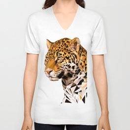 Jaguar Unisex V-Neck