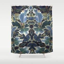 Ilex Aquifolium Shower Curtain