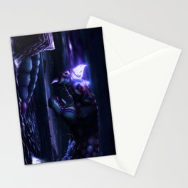 Glowing Water Dragon Stationery Cards